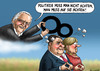 Cartoon: Dieter Hildebrandt (small) by marian kamensky tagged dieter,hildebrandt,satire,fernsehen