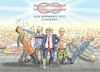 Cartoon: G20 IN HAMBURG (small) by marian kamensky tagged g20,in,hamburg
