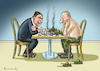 Cartoon: GABRIEL IN MOSKAU (small) by marian kamensky tagged gabriel,in,moskau,putin,nato