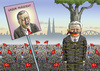 Cartoon: GAUCK BEI DEMO IN KÖLN (small) by marian kamensky tagged erdogan,türkendemo,in,köln,nationalismus