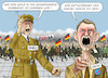 Cartoon: GOEBBELS KÖTER HÖCKE