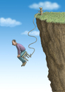 Cartoon: Hocker Jumping (small) by marian kamensky tagged sport,boungee,jumping,adrenalin