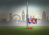 Cartoon: Islamistenanschlag in London (small) by marian kamensky tagged islamistenterror,london,soldatenmord