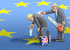 Cartoon: JUNCKER HILFT BORIS (small) by marian kamensky tagged brexit,theresa,may,england,eu,schottland,weicher,wahlen,boris,johnson,nigel,farage,ostern,seidenstrasse,xi,jinping,referendum,trump,monsanto,bayer,glyphosa,strafzölle