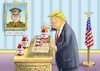 Cartoon: MITFÜHLENDER TRUMP (small) by marian kamensky tagged obama,trump,präsidentenwahlen,usa,baba,vanga,republikaner,inauguration,demokraten,charlottesville,barcelona,terroranschlag,wikileaks,faschismus
