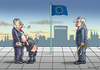 Cartoon: PISBESTRAFUNG (small) by marian kamensky tagged polen,faschismus,rassismus,pis,justitia,nationalismus,orban,juncker,kazyinski,szydlo
