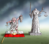 Cartoon: POLEN IST VERLOREN (small) by marian kamensky tagged polen,faschismus,rassismus,pis,justitia,nationalismus,kazyinski