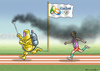 Cartoon: RIO 2016 (small) by marian kamensky tagged rio,2016,zika,virus,olympische,spiele