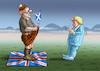 Cartoon: SCHOTTEN WOLLEN SICH ABSCHOTTEN (small) by marian kamensky tagged brexit,theresa,may,england,eu,schottland,weicher,wahlen,boris,johnson,nigel,farage,ostern,seidenstrasse,xi,jinping,referendum,trump,monsanto,bayer,glyphosa,strafzölle