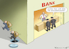 Cartoon: STEUER-RAZZIEN BEI DEN BANKEN (small) by marian kamensky tagged deutsche,bank,commerzbank,fusion,bibel,weisheit,geld,kapital