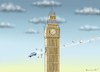 Cartoon: TERROR ATTACK IN LONDON (small) by marian kamensky tagged terror,attack,in,london