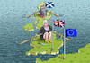 Cartoon: THE BREXIT LADY THERESA MAY (small) by marian kamensky tagged brexit,theresa,may,england,eu,schottland