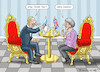 Cartoon: THERESA MAY BESUCHT PUTIN (small) by marian kamensky tagged theresa,may,putin,sergei,skripal,novichok,russia,kgb,poison,attack,england,agents,präsidentenwahl,in,russland