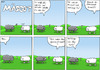 Cartoon: Anwalt - Mäscot 50 (small) by maescot tagged webcomic,schaf,niedlich,jura