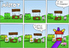 Cartoon: Optimierungsbedarf - Mäscot 46 (small) by maescot tagged webcomic,schaf,niedlich,gif,business