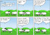 Cartoon: Steve - Mäscot 53 (small) by maescot tagged webcomic,schaf,niedlich,apple,steve,jobs