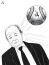 Cartoon: Blatter resignation (small) by paolo lombardi tagged soccer