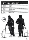 Cartoon: ISIS in Europe (small) by paolo lombardi tagged terrorism,isis