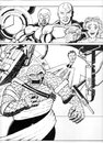 Cartoon: Fantastic Four submission piece (small) by InkMark tagged superheros,fanatsatic,four,ff,the,thing
