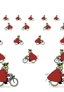 Cartoon: Bike King (small) by fussel tagged bike,fahrrad,radfahren,könig,king