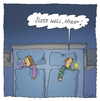 Cartoon: Sleep well (small) by fussel tagged sleep,well,honey,communication,smart,phone,marriage,good,night