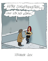 Cartoon: Veganer Sex? (small) by fussel tagged vegan,veganer,fleisch,lust,sex