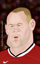 Cartoon: wayne rooney (small) by abdullah tagged rooney man manchester united striker priemer league