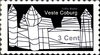 Cartoon: Briefmarke Coburg 12 (small) by SoRei tagged regional,insider,briefmarke,coburg,veste