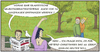 Cartoon: who knows (small) by SoRei tagged glauben,hoffen,meinen,raten