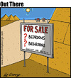 Cartoon: 4 sale (small) by George tagged sale