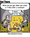 Cartoon: early humour (small) by George tagged early,humour