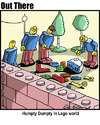 Cartoon: lego (small) by George tagged lego