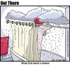 Cartoon: shower (small) by George tagged shower