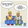 Cartoon: Digitale Demenz (small) by Timo Essner tagged digitale demenz computer internet internetnutzung suchmaschinen google wikipedia cartoon timo essner
