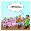 Cartoon: Dominoschweine (small) by Timo Essner tagged domino,dominosteine,schweine,dominoschweine,cartoon,timo,essner