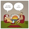 Cartoon: Rentier (small) by Timo Essner tagged ren,rentier,weihnachten,advent,erster,wortspiel,rentner,pensionär,synonyme,cartoon,timo,essner