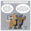 Cartoon: Russische Hacker im Bundestag (small) by Timo Essner tagged russland,bundestag,hacker,snake,apt28,datensicherheit,spionage,informationskrieg,untersuchungsausschuss,kalter,krieg,cartoons,timo,essner