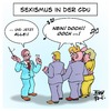 Cartoon: Sexismus in der CDU (small) by Timo Essner tagged cdu,frank,henkel,sexismus,tauber,frauen,frauenbild,aufschrei,csu,konservative,cartoon,timo,essner
