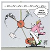Cartoon: the Human Humiliator (small) by Timo Essner tagged sports,fitness,pain,sweat,indoor,exercise,bike,funbike,training