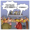 Cartoon: Wir werden alle färben (small) by Timo Essner tagged heavy,metal,hard,rock,hardrock,musik,konzert,festival,songtexte,sänger,cartoon,timo,essner