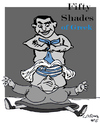 Cartoon: 50 Shades of... (small) by Carma tagged angela,merkel,alexis,tsipras,greece,germany,50,shades,of,grey