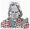 Cartoon: Neil Young (small) by Carma tagged neil,young,music,rock,celebrities,musicians