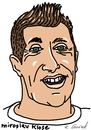 Cartoon: Miroslav Klose (small) by Ralf Conrad tagged miroslav,klose,wm,2014