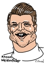 Cartoon: Roman Weidenfeller (small) by Ralf Conrad tagged roman,weidenfeller,wm,2014