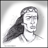 Cartoon: Pierre Brice - in memoriam (small) by Uliwood tagged schauspieler,actor,pierre,brice,winnetou,western,franzose,apache,in,gedenken,karl,may