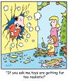 Cartoon: TP0193christmastoys (small) by comicexpress tagged christmas,xmas,toys,presents,weapons,explosives,dangerous,child,children,kids,parents,mother,father