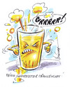 Cartoon: frisch gestresster Orangensaft (small) by Hoevelercomics tagged orange,orangensaft,ernährung,obst,gesundheit