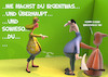 Cartoon: Widersprechen (small) by Rüsselhase tagged beziehung,tod,relationship,fun