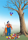 Cartoon: catalalist (small) by kotrha tagged independence,referendum,catalonia,spain,europe,euro,peace