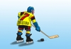 Cartoon: hokean (small) by kotrha tagged hokej,hockey,world,cup